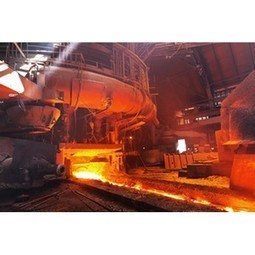 Continuous Casting Machines in a Steel Factory